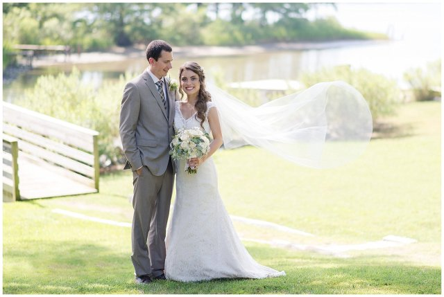 Beautiful Neutral Cream Wedding Womens Club of Portsmouth Virginia Wedding Photographers_1590
