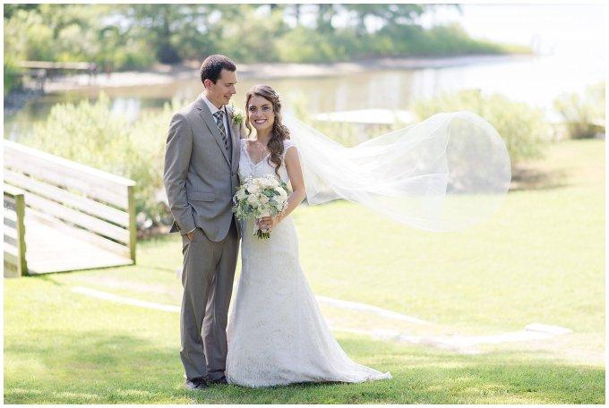 Beautiful Neutral Cream Wedding Womens Club of Portsmouth Virginia Wedding Photographers_1590
