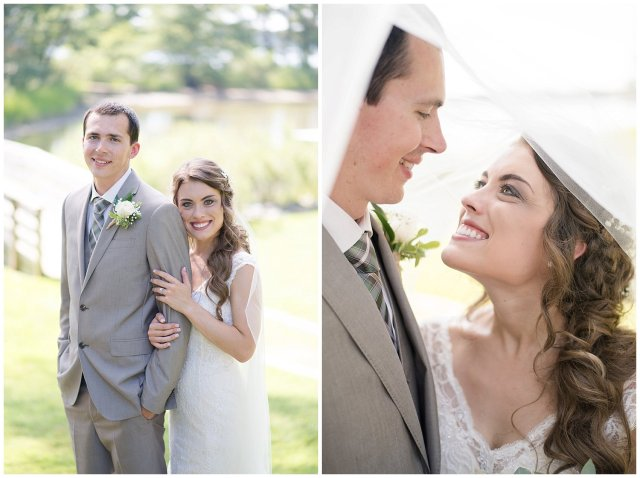 Beautiful Neutral Cream Wedding Womens Club of Portsmouth Virginia Wedding Photographers_1597