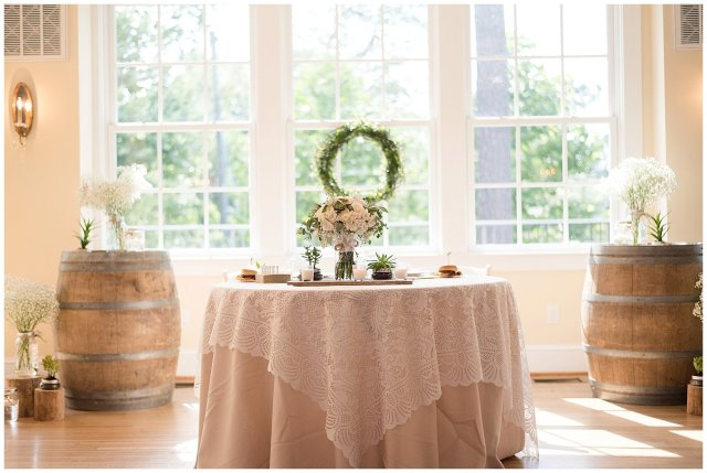 Beautiful Neutral Cream Wedding Womens Club of Portsmouth Virginia Wedding Photographers_1607