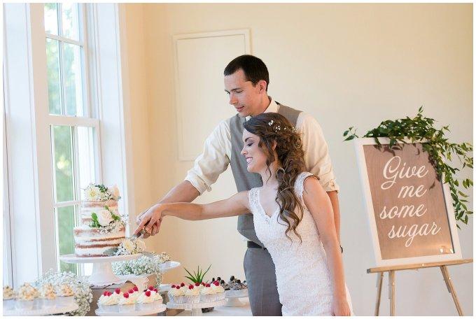 Beautiful Neutral Cream Wedding Womens Club of Portsmouth Virginia Wedding Photographers_1637