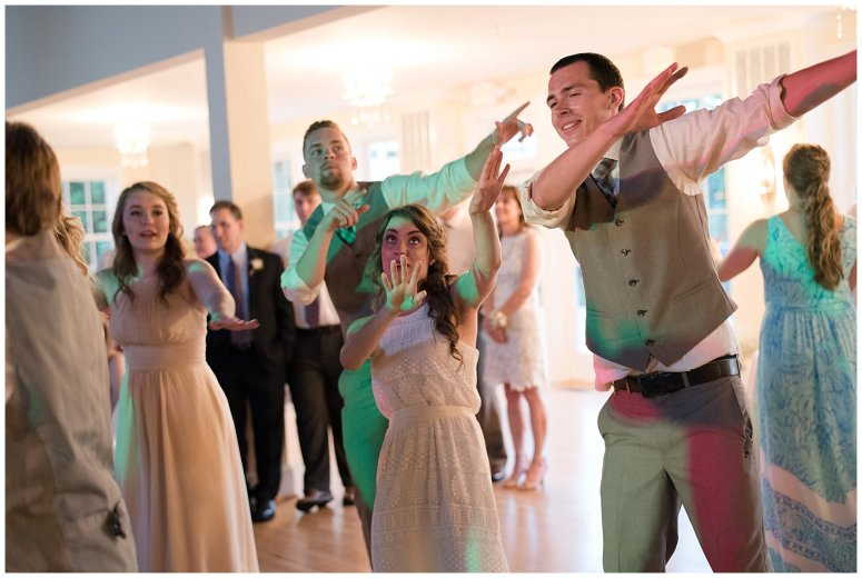 Beautiful Neutral Cream Wedding Womens Club of Portsmouth Virginia Wedding Photographers_1656