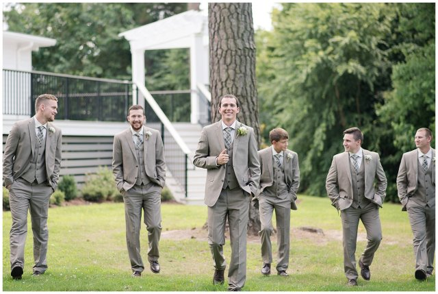 Beautiful Neutral Cream Wedding Womens Club of Portsmouth Virginia Wedding Photographers_1664