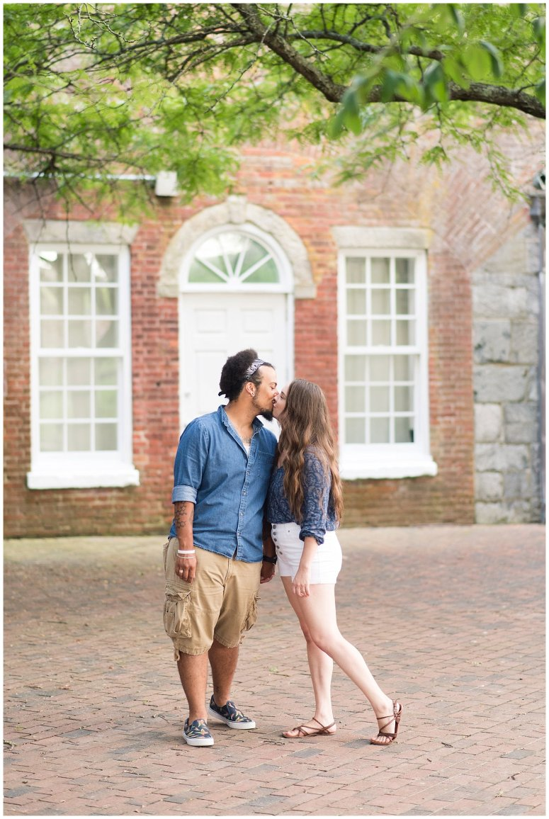 Fort Monroe Virginia Sunset Engagement Session Virignia Wedding Photographers_1288