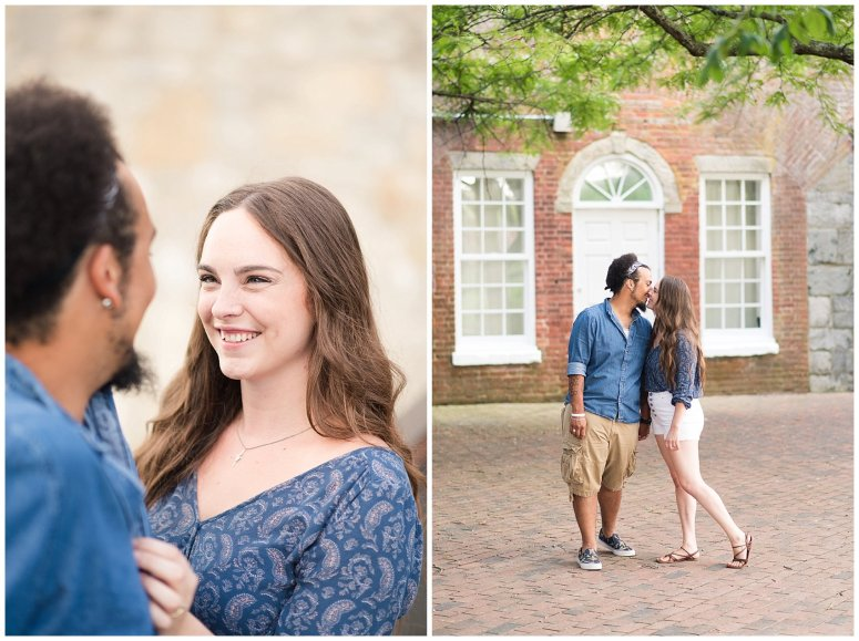 Fort Monroe Virginia Sunset Engagement Session Virignia Wedding Photographers_1291