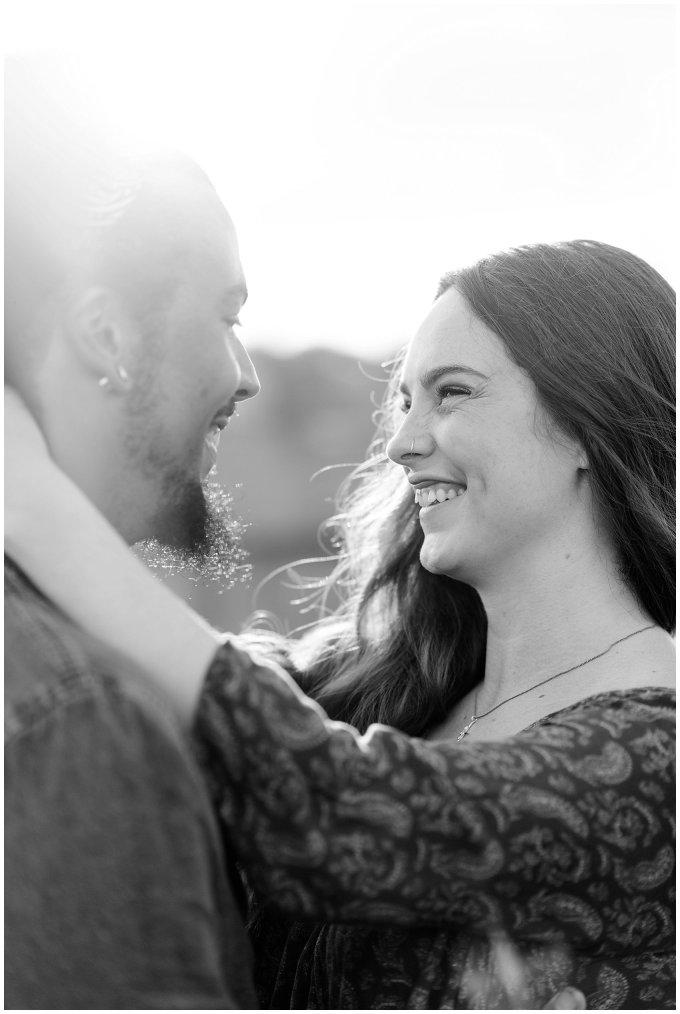 Fort Monroe Virginia Sunset Engagement Session Virignia Wedding Photographers_1303
