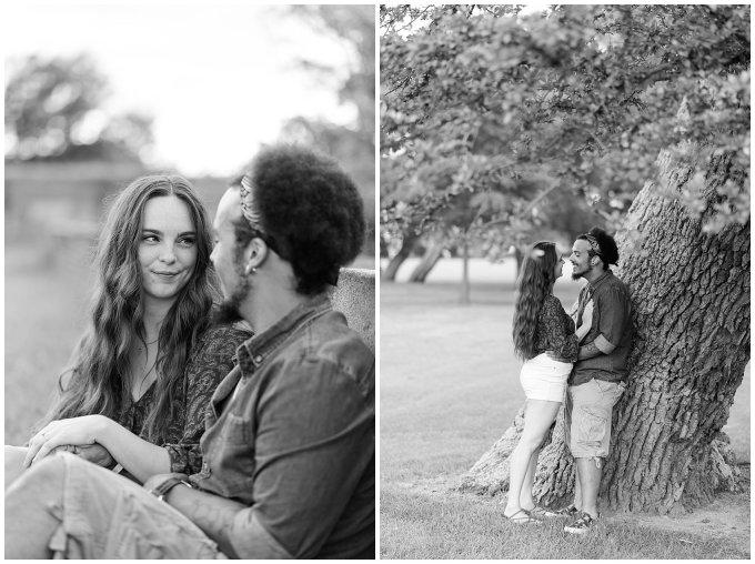 Fort Monroe Virginia Sunset Engagement Session Virignia Wedding Photographers_1310
