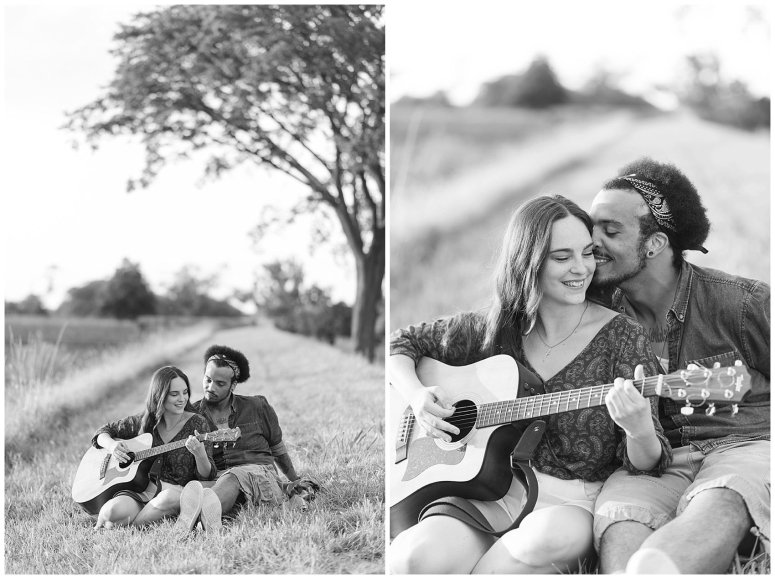 Fort Monroe Virginia Sunset Engagement Session Virignia Wedding Photographers_1315