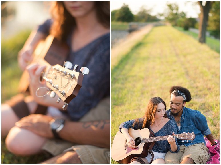 Fort Monroe Virginia Sunset Engagement Session Virignia Wedding Photographers_1322