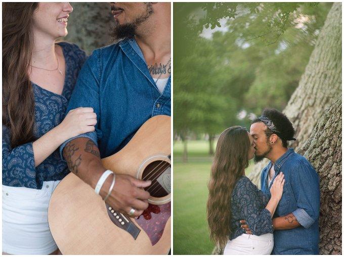 Fort Monroe Virginia Sunset Engagement Session Virignia Wedding Photographers_1327