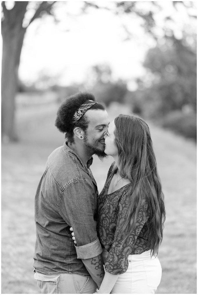Fort Monroe Virginia Sunset Engagement Session Virignia Wedding Photographers_1334
