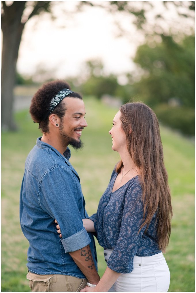 Fort Monroe Virginia Sunset Engagement Session Virignia Wedding Photographers_1335