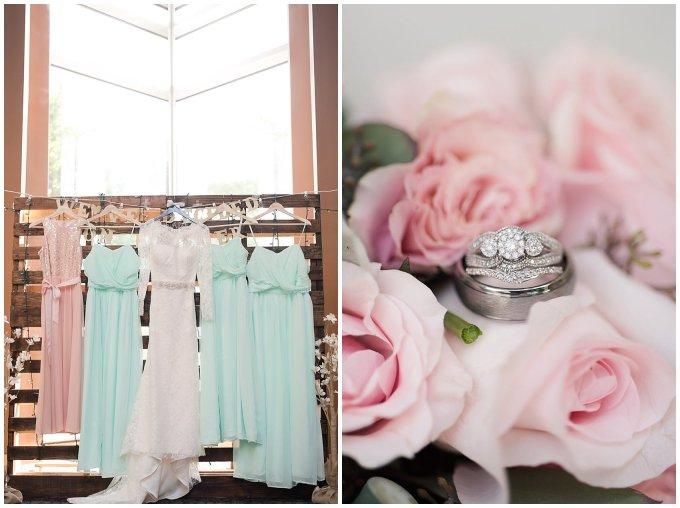 Hampton Virginia Wedding Photographer Pale Pink Blue Succulents Beautiful Virginia Wedding_1198