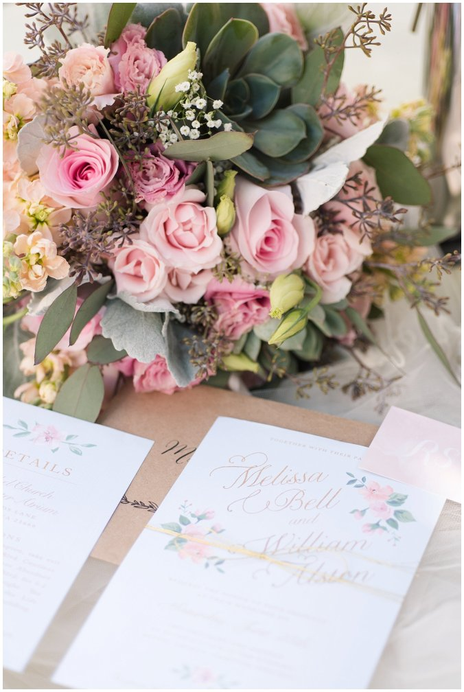 Hampton Virginia Wedding Photographer Pale Pink Blue Succulents Beautiful Virginia Wedding_1209