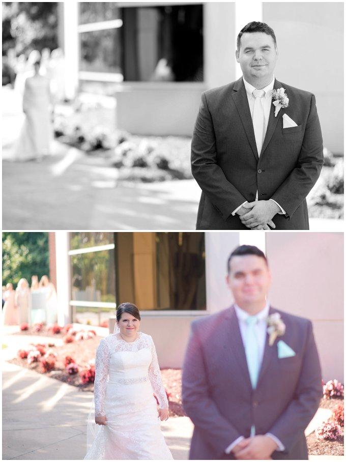 Hampton Virginia Wedding Photographer Pale Pink Blue Succulents Beautiful Virginia Wedding_1234