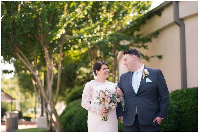 Hampton Virginia Wedding Photographer Pale Pink Blue Succulents Beautiful Virginia Wedding_1238
