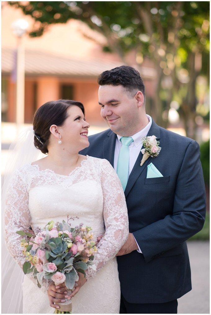 Hampton Virginia Wedding Photographer Pale Pink Blue Succulents Beautiful Virginia Wedding_1239