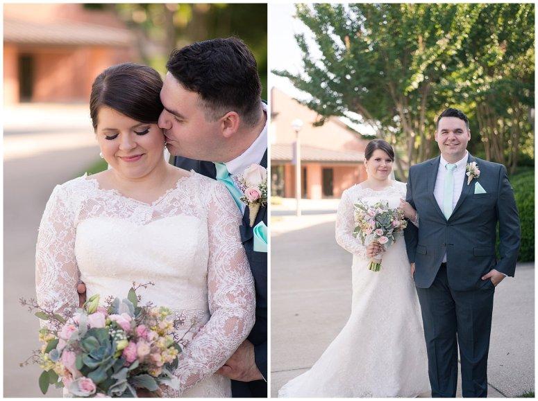 Hampton Virginia Wedding Photographer Pale Pink Blue Succulents Beautiful Virginia Wedding_1240
