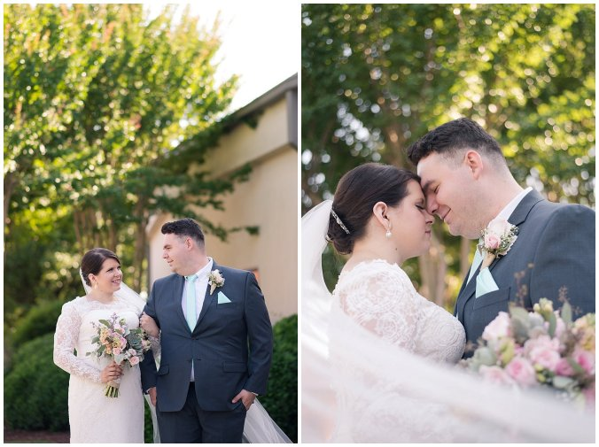 Hampton Virginia Wedding Photographer Pale Pink Blue Succulents Beautiful Virginia Wedding_1243