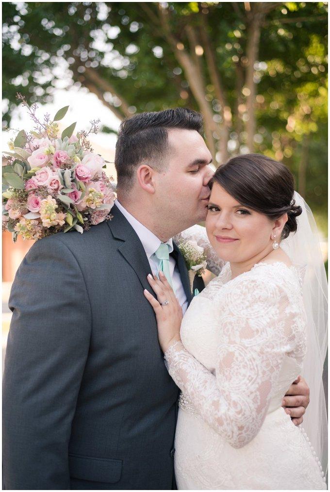 Hampton Virginia Wedding Photographer Pale Pink Blue Succulents Beautiful Virginia Wedding_1273