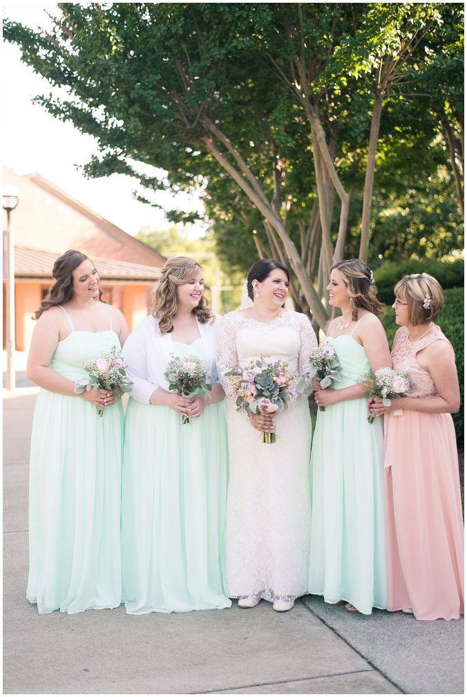 Hampton Virginia Wedding Photographer Pale Pink Blue Succulents Beautiful Virginia Wedding_1275