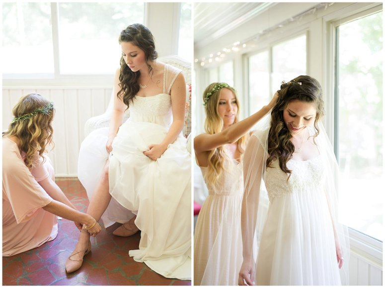 Beautiful Blush Pink Cream Green Wedding Charlotte North Carolina Virginia Wedding Photographers_1709