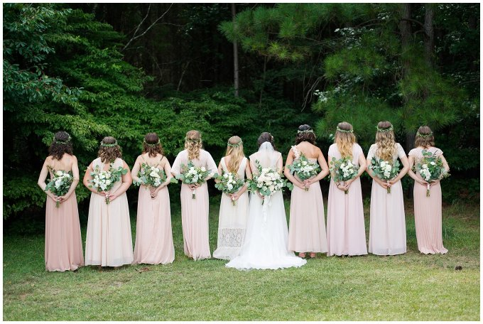 Beautiful Blush Pink Cream Green Wedding Charlotte North Carolina Virginia Wedding Photographers_1716