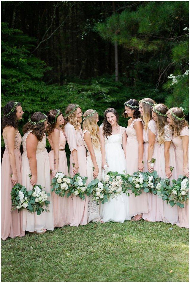 Beautiful Blush Pink Cream Green Wedding Charlotte North Carolina Virginia Wedding Photographers_1721