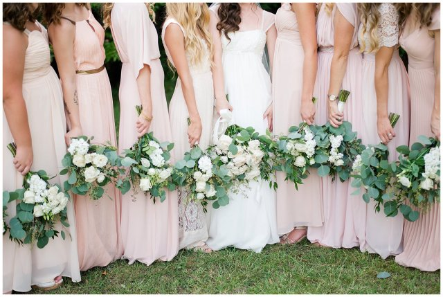 Beautiful Blush Pink Cream Green Wedding Charlotte North Carolina Virginia Wedding Photographers_1723