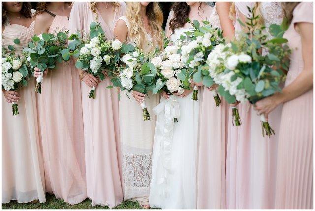 Beautiful Blush Pink Cream Green Wedding Charlotte North Carolina Virginia Wedding Photographers_1724