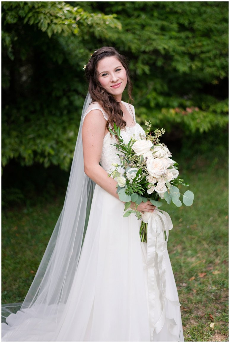 Beautiful Blush Pink Cream Green Wedding Charlotte North Carolina Virginia Wedding Photographers_1736
