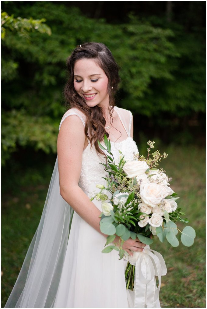 Beautiful Blush Pink Cream Green Wedding Charlotte North Carolina Virginia Wedding Photographers_1740