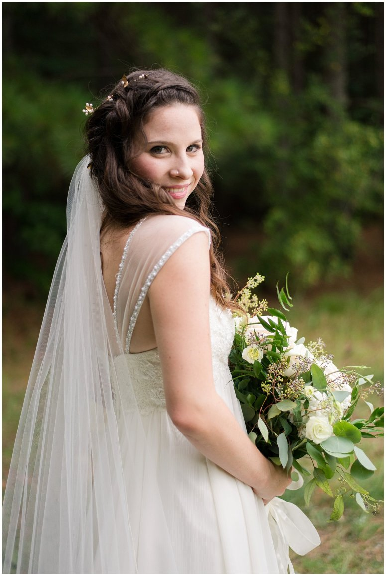 Beautiful Blush Pink Cream Green Wedding Charlotte North Carolina Virginia Wedding Photographers_1742