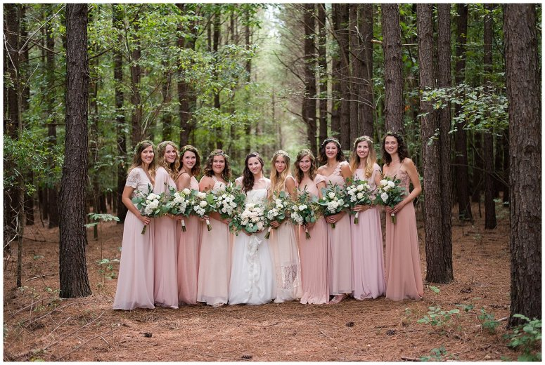 Beautiful Blush Pink Cream Green Wedding Charlotte North Carolina Virginia Wedding Photographers_1753