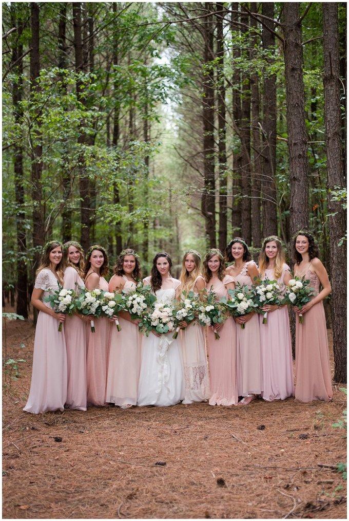 Beautiful Blush Pink Cream Green Wedding Charlotte North Carolina Virginia Wedding Photographers_1754