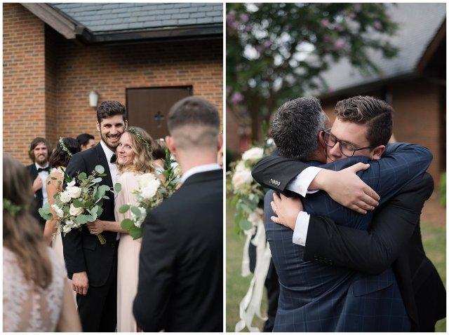 Beautiful Blush Pink Cream Green Wedding Charlotte North Carolina Virginia Wedding Photographers_1806