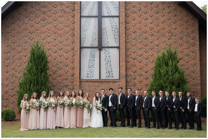 Beautiful Blush Pink Cream Green Wedding Charlotte North Carolina Virginia Wedding Photographers_1807
