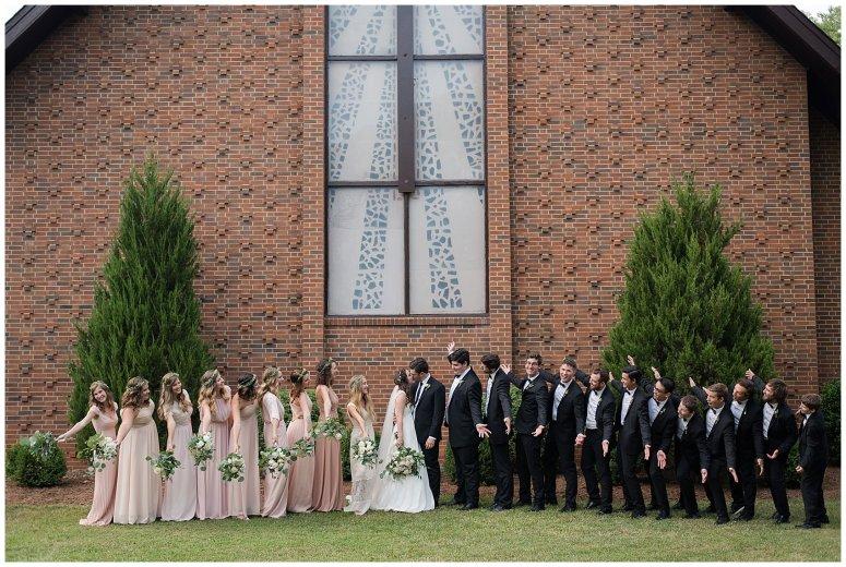 Beautiful Blush Pink Cream Green Wedding Charlotte North Carolina Virginia Wedding Photographers_1808
