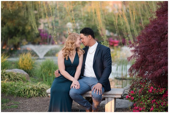 Classy Downtown Norfolk Freemason District Pagoda Gardens Engagement Session Virginia Wedding Photographers_4258
