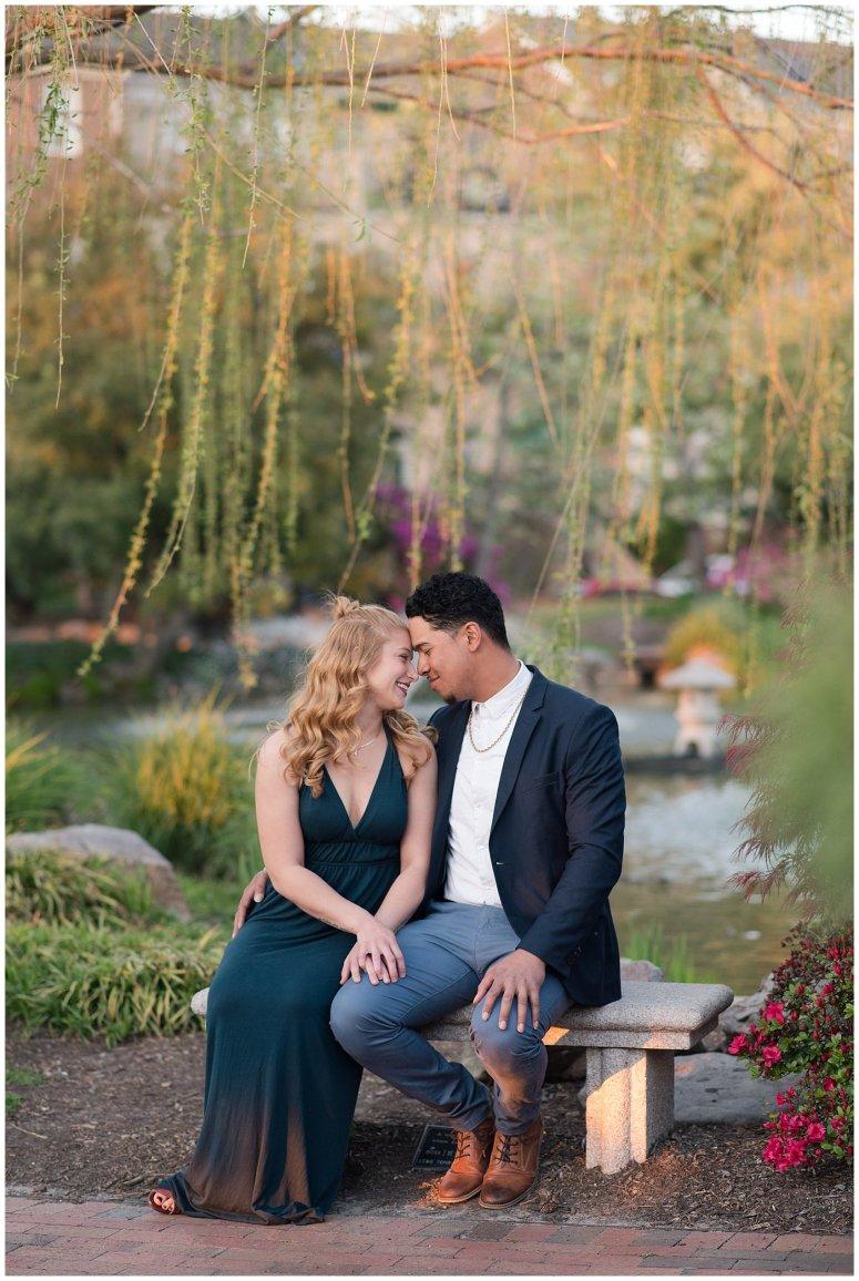 Classy Downtown Norfolk Freemason District Pagoda Gardens Engagement Session Virginia Wedding Photographers_4263