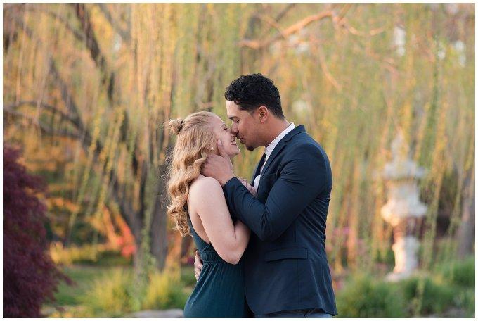 Classy Downtown Norfolk Freemason District Pagoda Gardens Engagement Session Virginia Wedding Photographers_4264