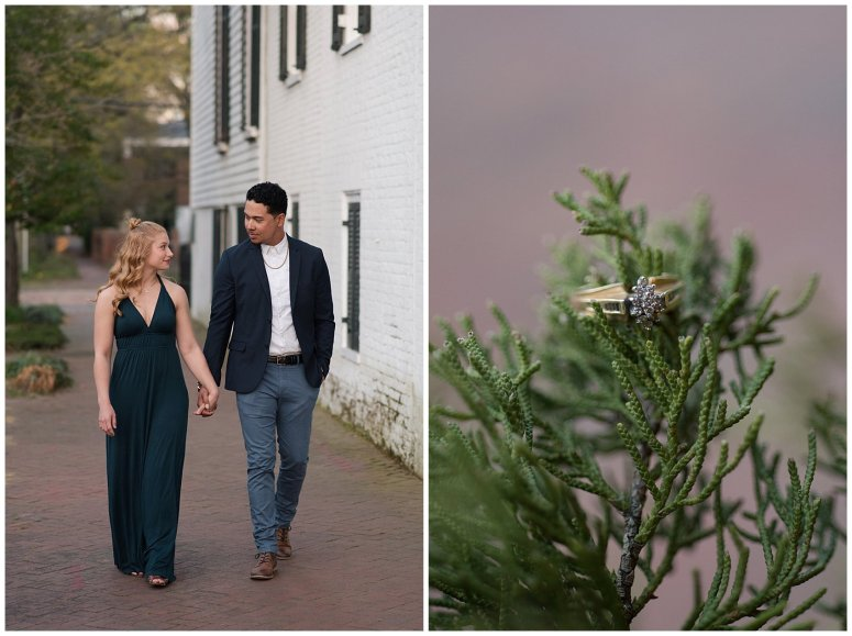 Classy Downtown Norfolk Freemason District Pagoda Gardens Engagement Session Virginia Wedding Photographers_4265