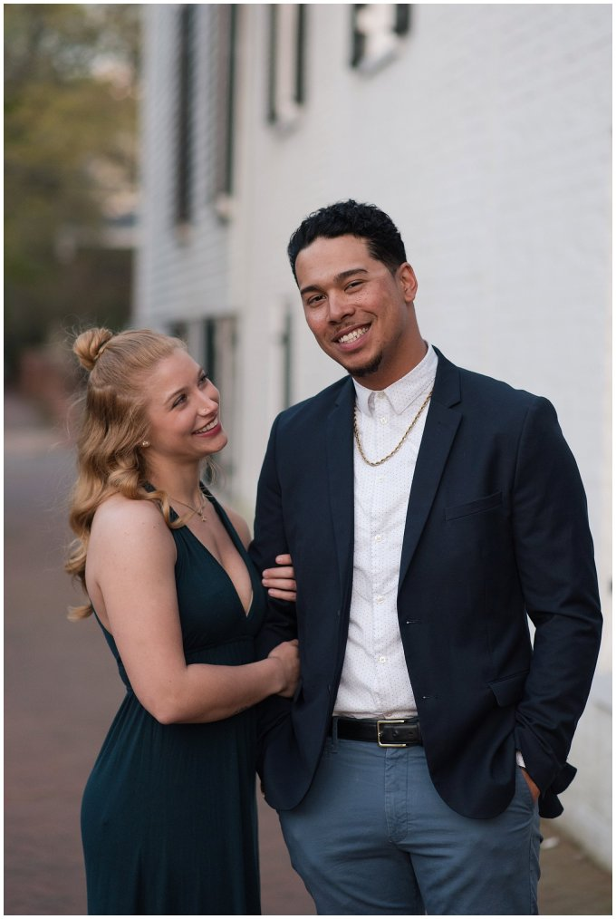 Classy Downtown Norfolk Freemason District Pagoda Gardens Engagement Session Virginia Wedding Photographers_4269