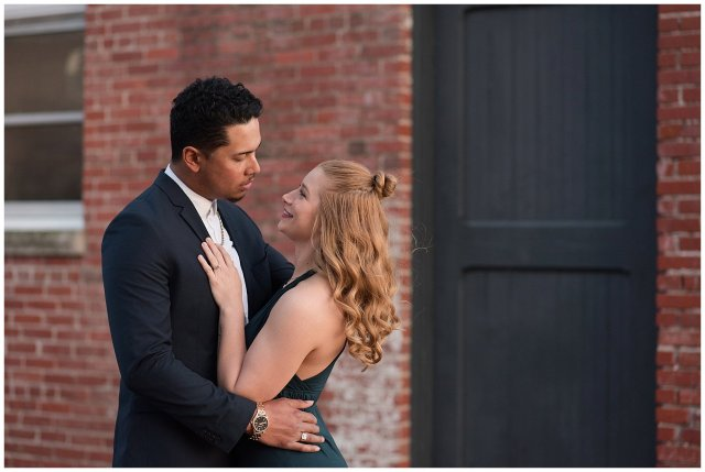 Classy Downtown Norfolk Freemason District Pagoda Gardens Engagement Session Virginia Wedding Photographers_4274