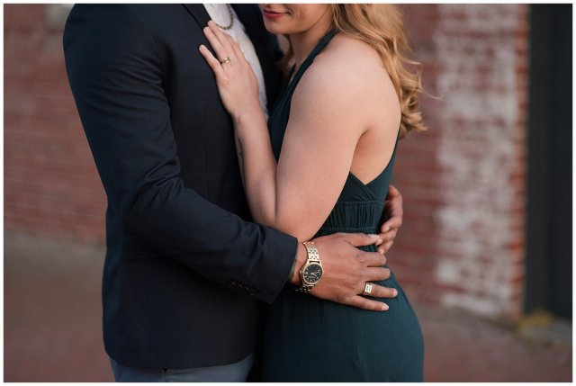 Classy Downtown Norfolk Freemason District Pagoda Gardens Engagement Session Virginia Wedding Photographers_4275