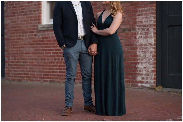 Classy Downtown Norfolk Freemason District Pagoda Gardens Engagement Session Virginia Wedding Photographers_4277