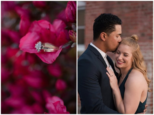 Classy Downtown Norfolk Freemason District Pagoda Gardens Engagement Session Virginia Wedding Photographers_4278