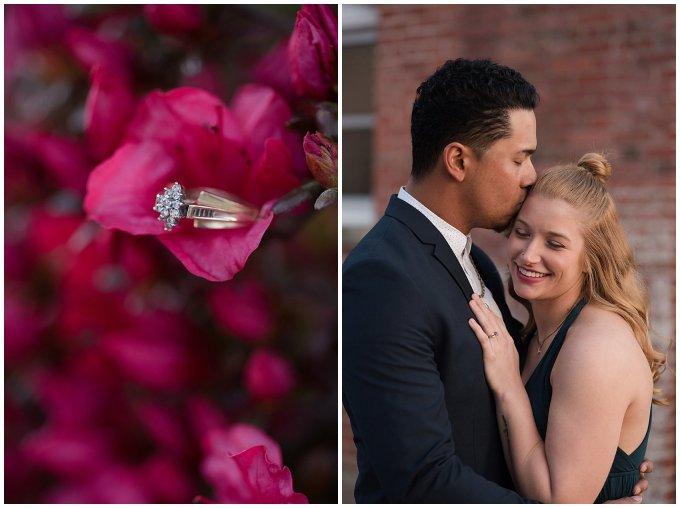 Classy Downtown Norfolk Freemason District Pagoda Gardens Engagement Session Virginia Wedding Photographers_4278