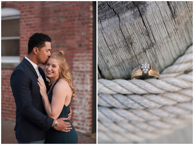 Classy Downtown Norfolk Freemason District Pagoda Gardens Engagement Session Virginia Wedding Photographers_4279