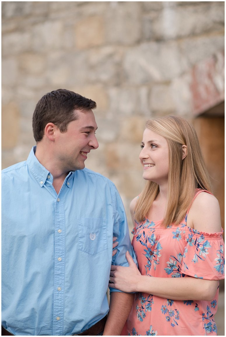 Fort Monroe Spring Engagement Session Virginia Wedding Photographers_4324
